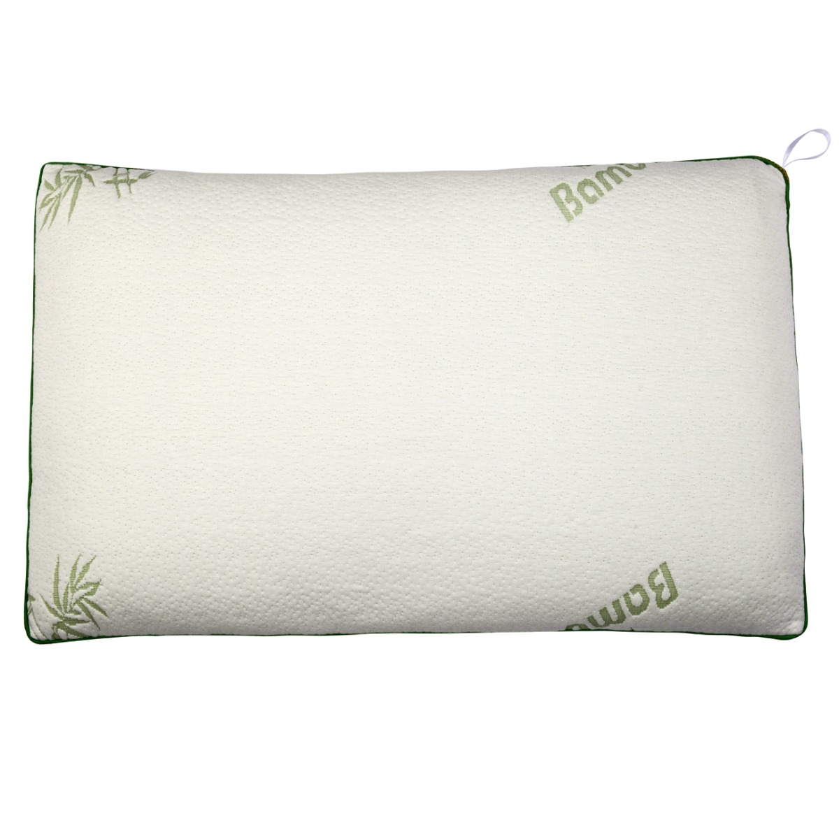 2x Polyester Bamboo Knit Bedding Pillow Washable  Queen Size