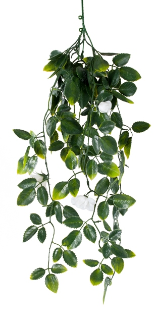 White Mixed Hanging Foliage UV 60cm