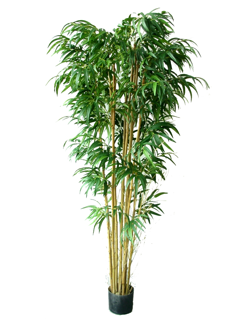 Faux Twiggy Bamboo On A Natural Trunk 180cm