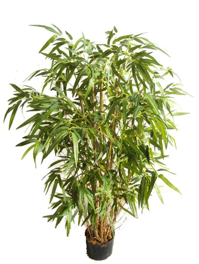 Artificial Twiggy Bamboo On A Natural Trunk 120cm