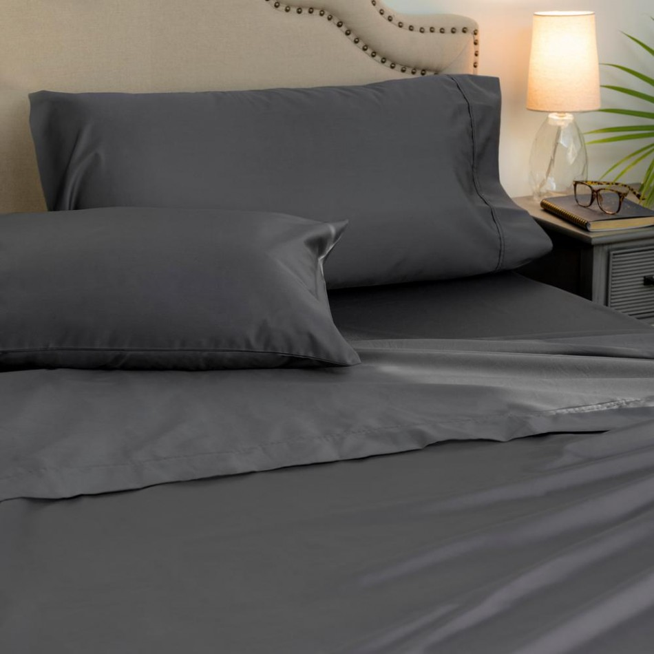 Phase 2 1000 Thread Count Sheet Set Charcoal