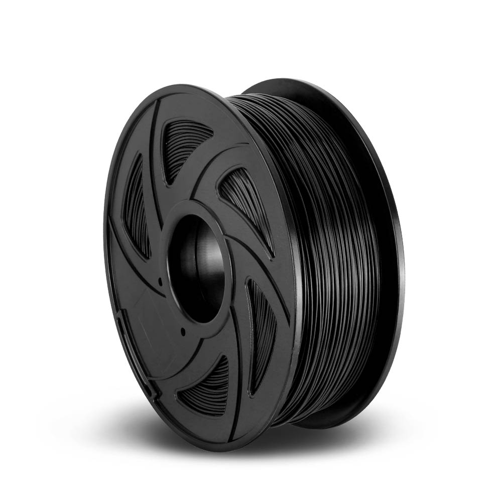 3D Printer Filament ABS 1.75mm 1kg per Roll Black