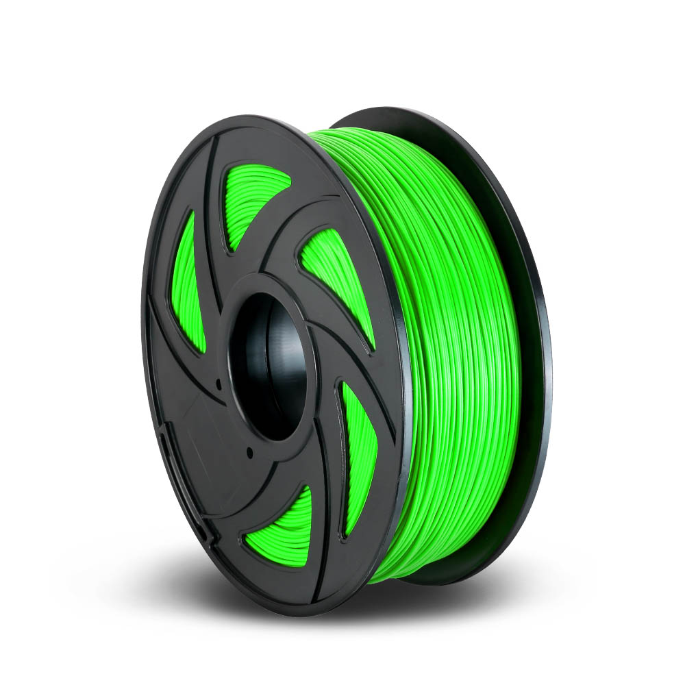 3D Printer Filament PLA 1.75mm 1kg per Roll Green