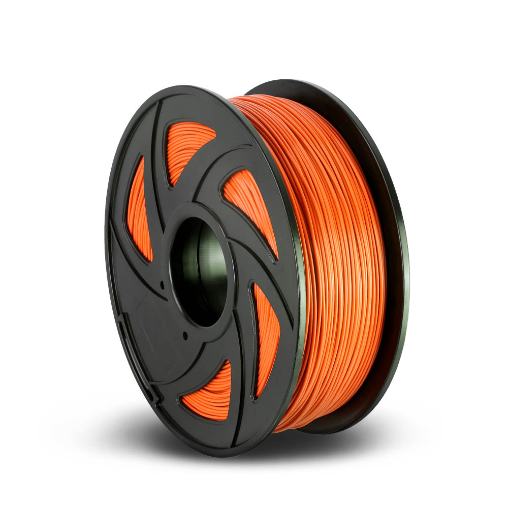 3D Printer Filament PLA 1.75mm 1kg per Roll Orange
