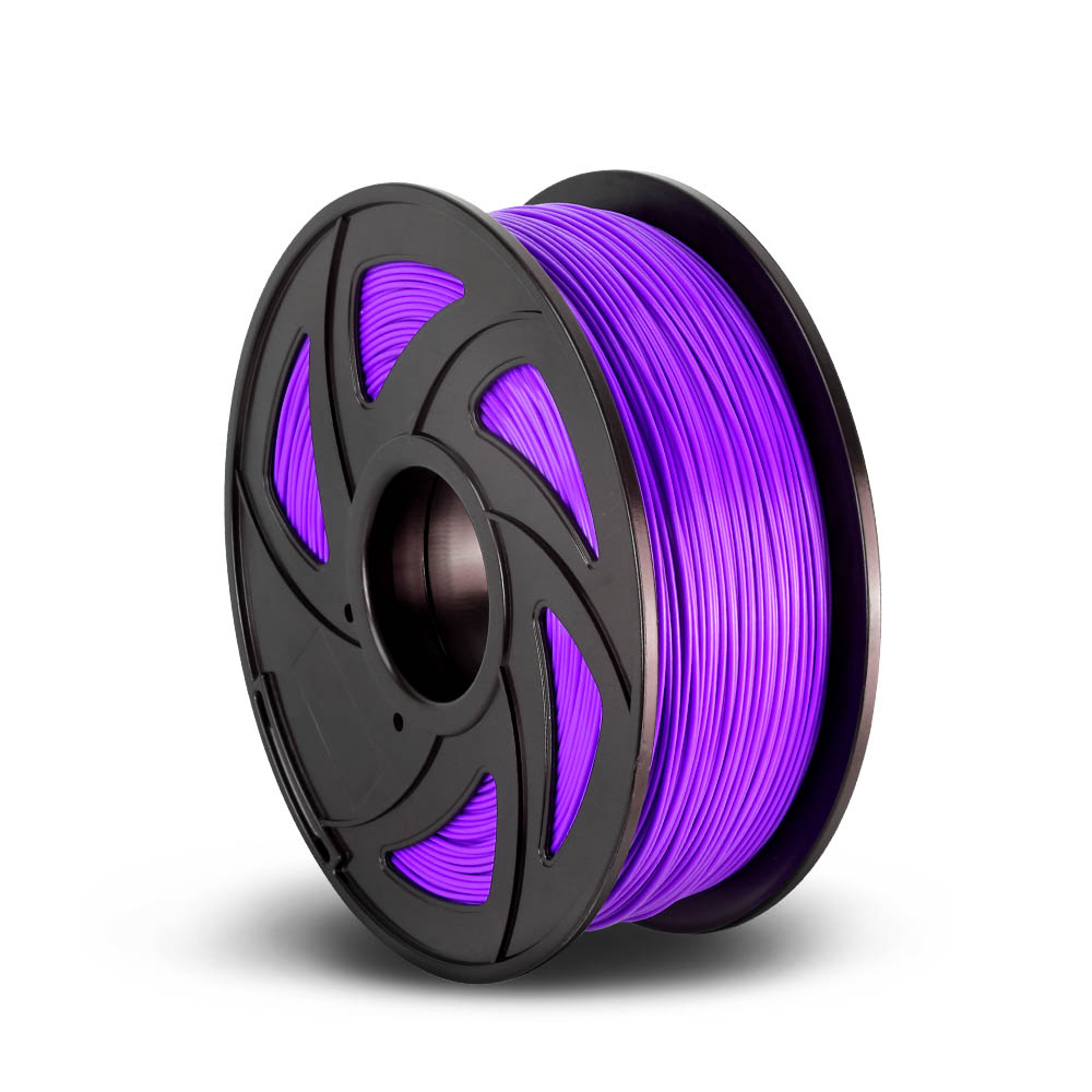 3D Printer Filament PLA 1.75mm 1kg per Roll Purple
