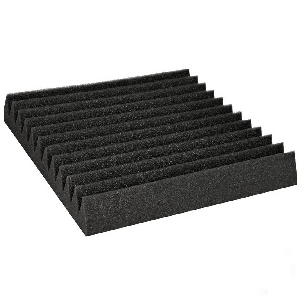 40pcs Studio Acoustic Foam Wedge 30X30CM Black