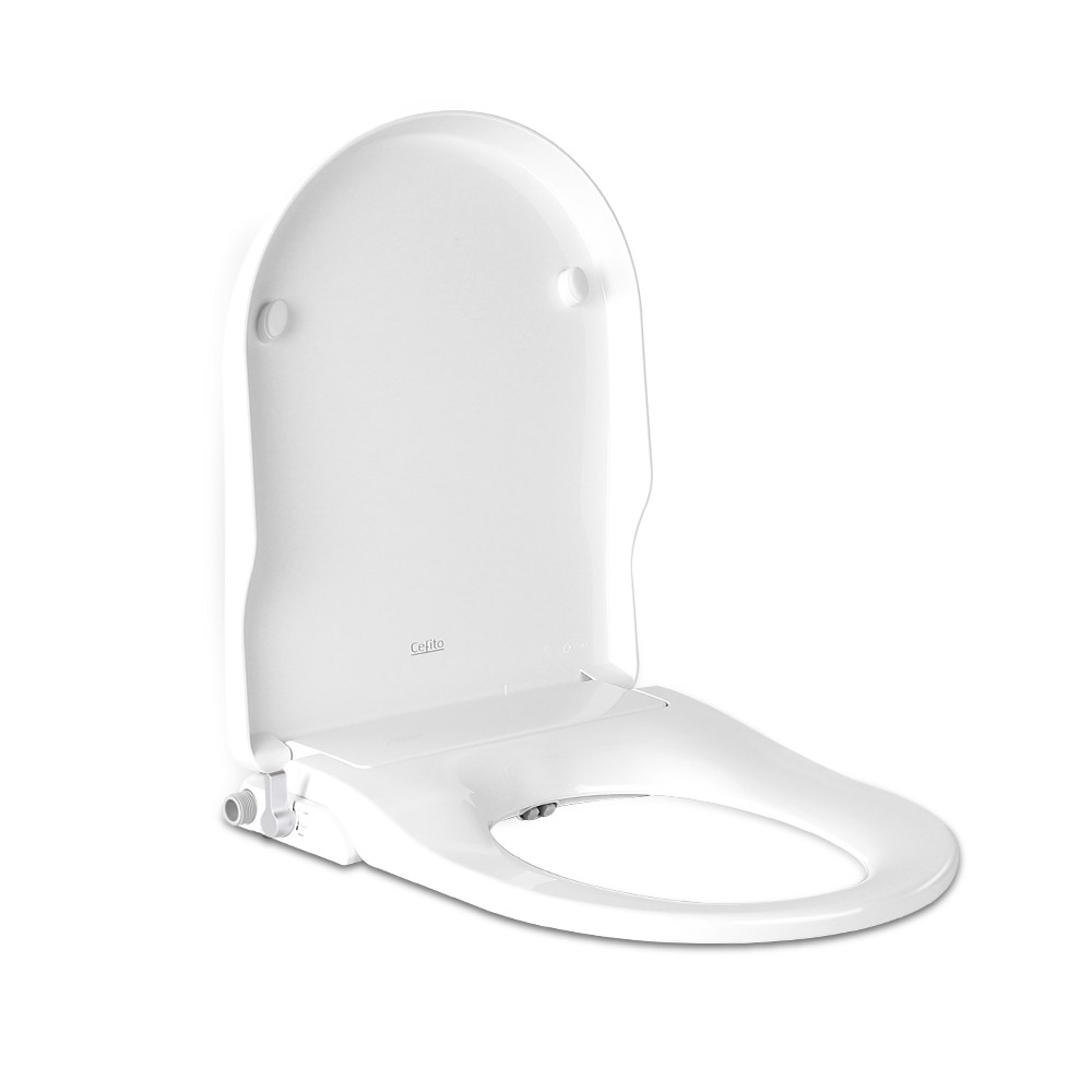 Non Electric Bidet Toilet Seat - White