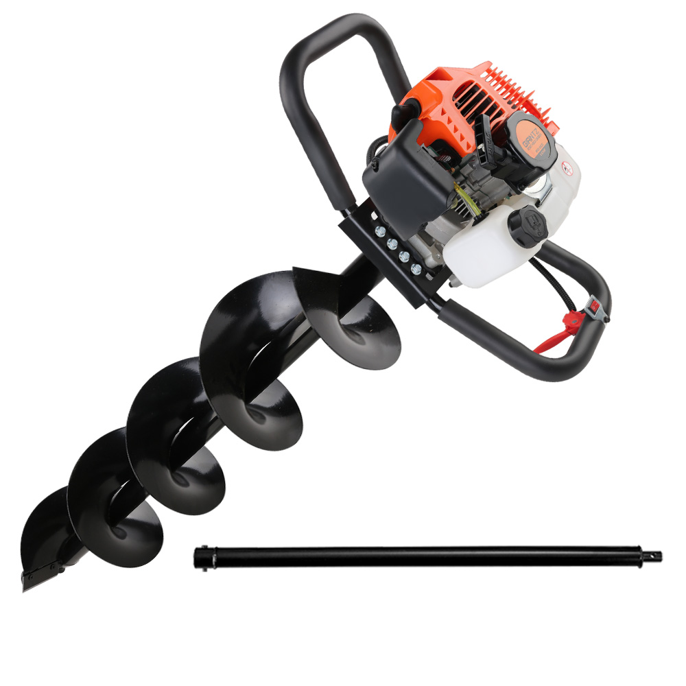 Giantz 62CC Petrol Post Hole Digger Drill