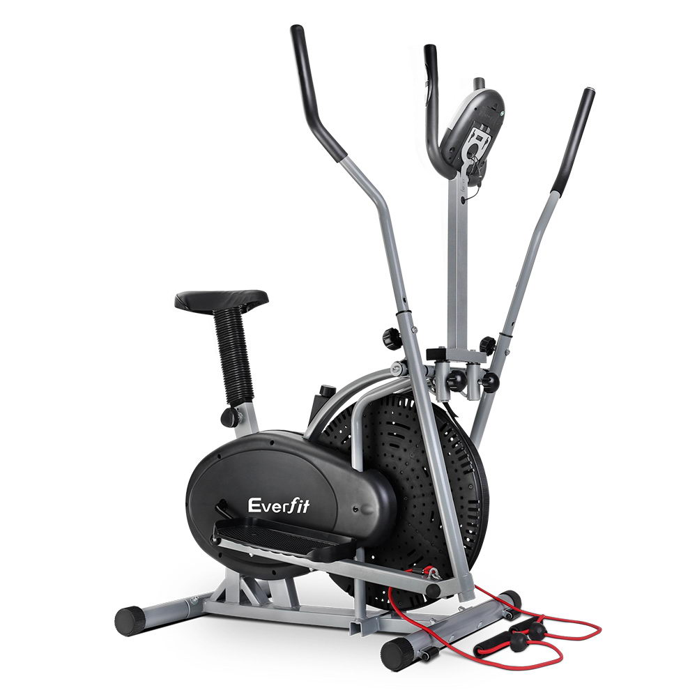 Everfit 5in1 Elliptical Cross Trainer Exercise Bike Bicycle Fitness