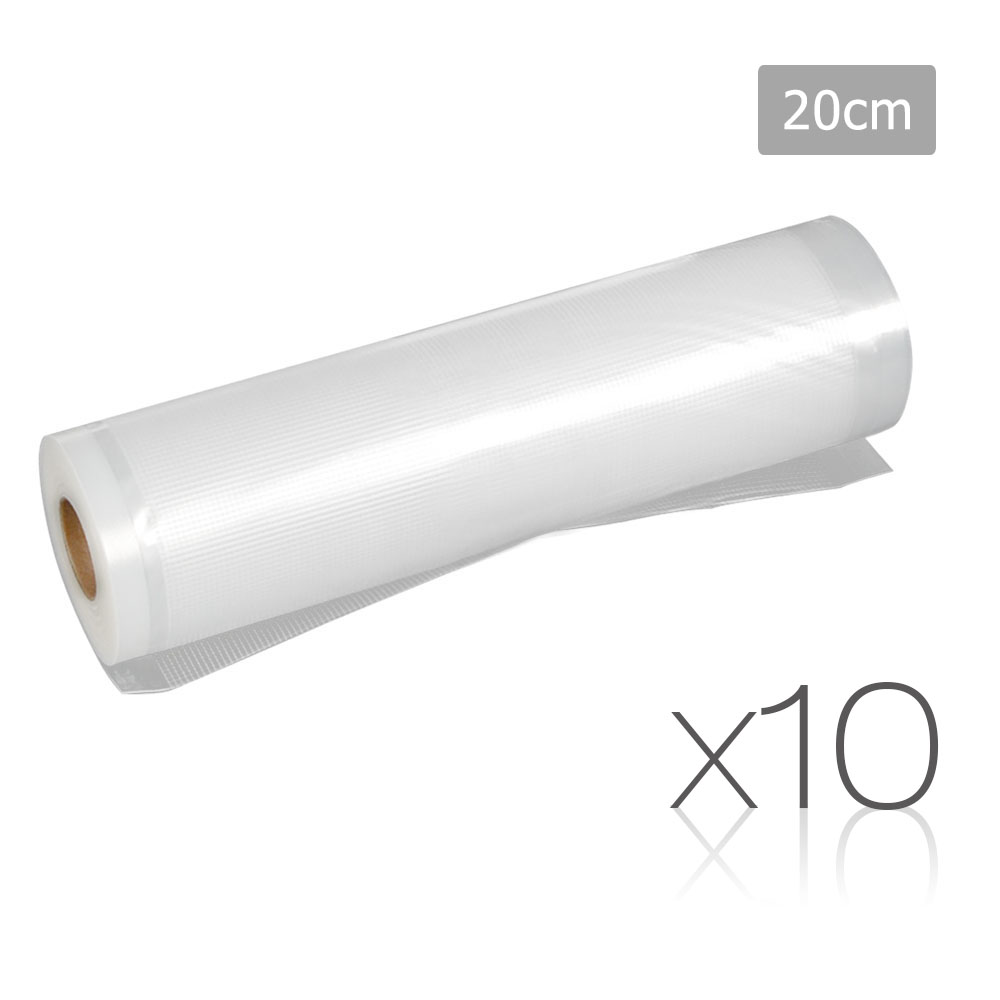 Set of 10 Food Sealer Roll 20cm