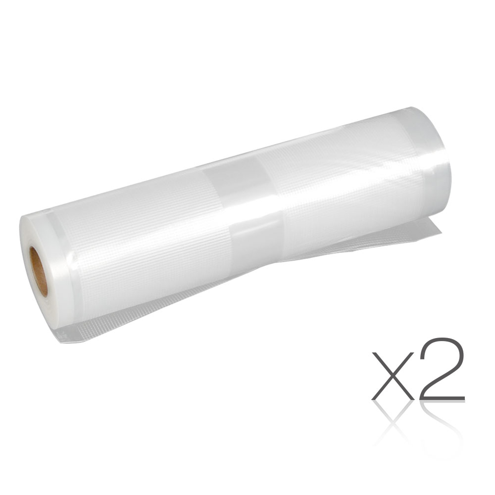 Set of 2 6m Food Sealer Rolls