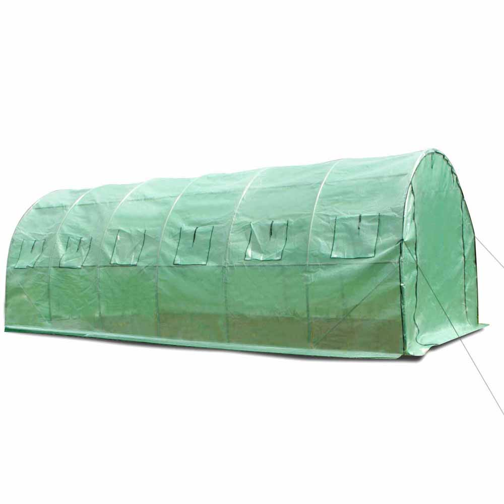 Green Fingers All Weather Tunnel Greenhouse 6m