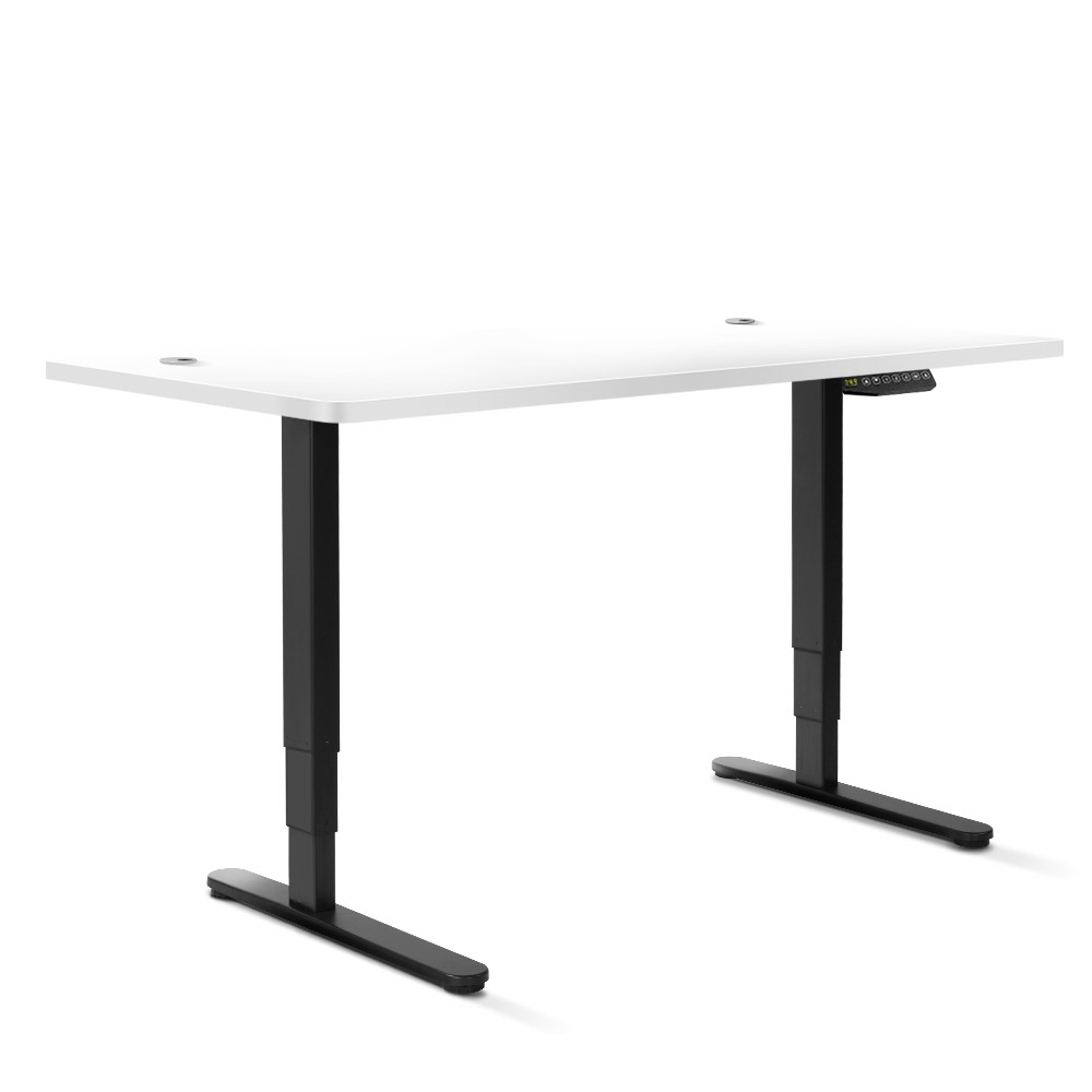 Artiss 160cm Motorised Electric Height Adjustable Standing Desk Table Dual Motor