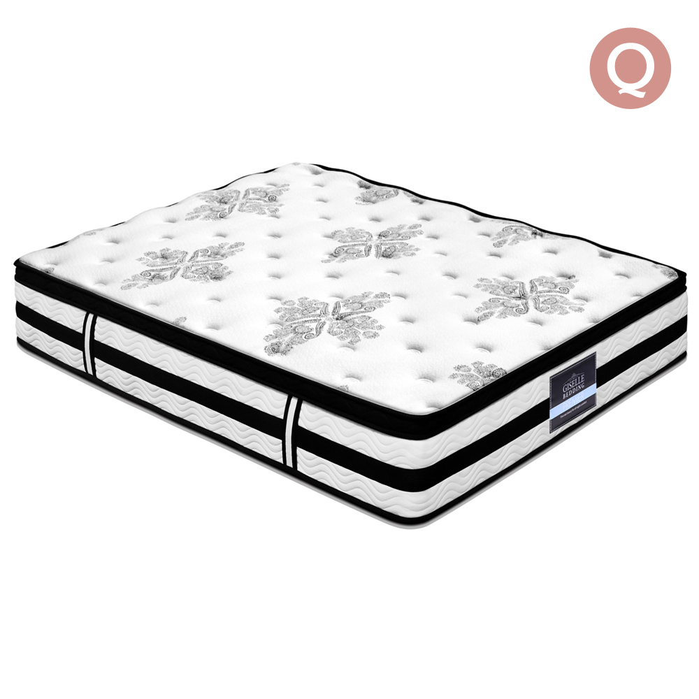 Giselle Bedding Queen Size 34cm Thick Foam Mattress