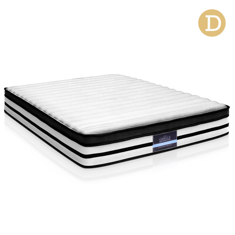 Giselle Bedding Double Size 27cm Thick Foam Spring Mattress
