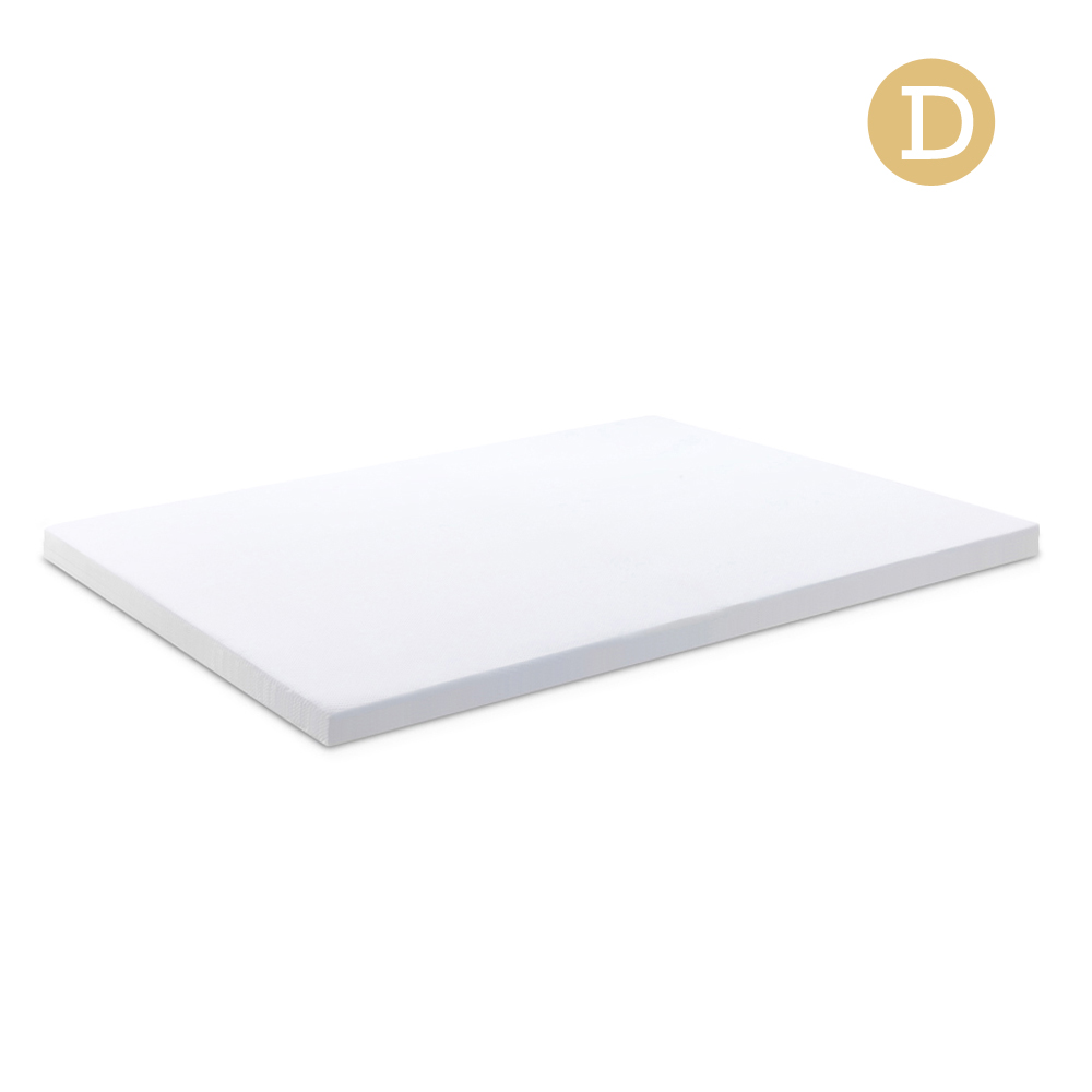 Giselle Bedding Double Size Dual Layer Cool Gel Memory Foam Topper