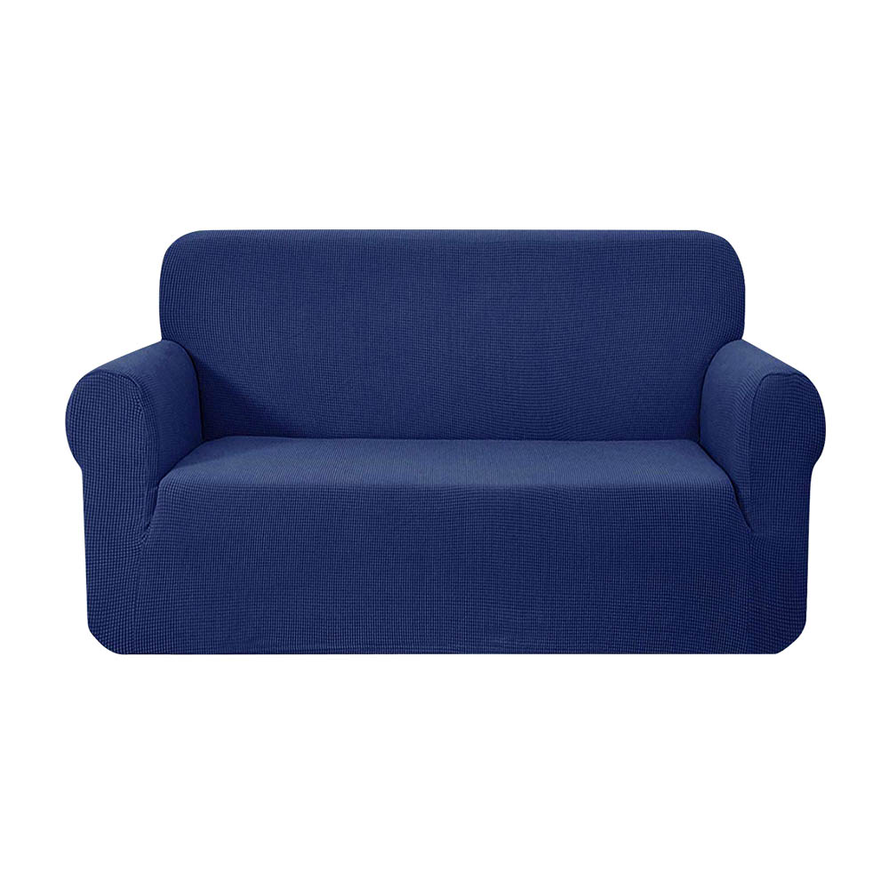 Artiss High Stretch Sofa Cover Couch Protector Slipcovers 2 Seater Navy