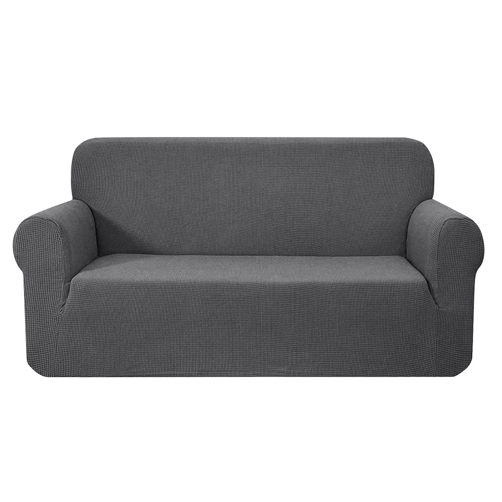 Artiss High Stretch Sofa Cover Couch Protector Slipcovers 3 Seater Grey