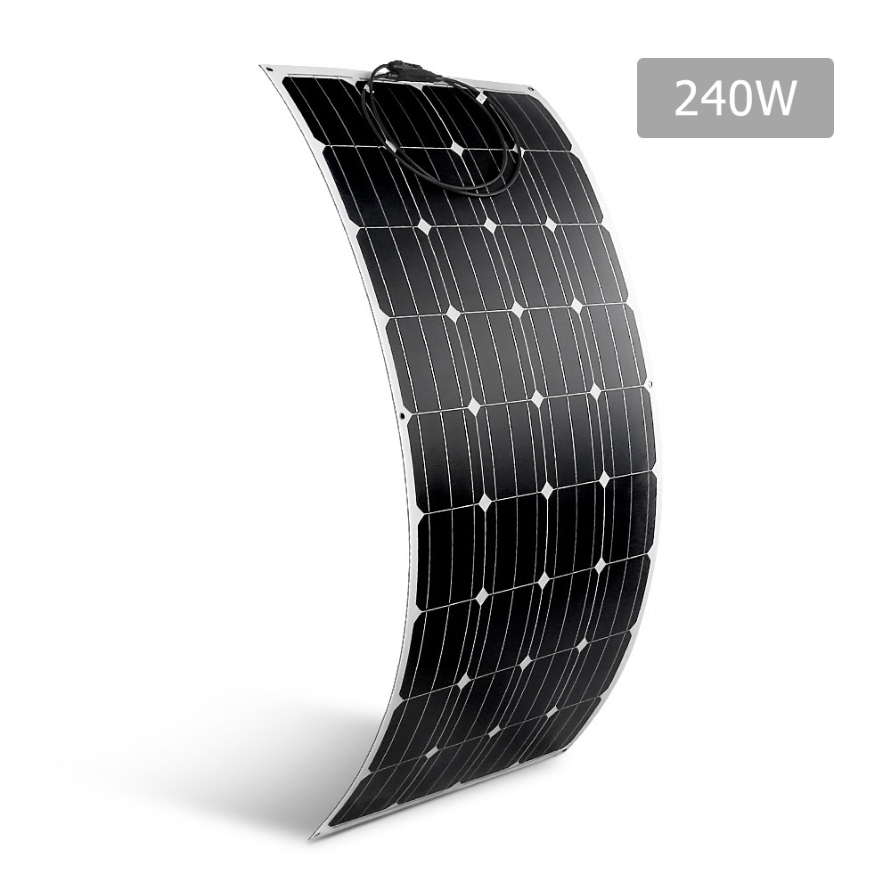 Solraiser 240W Water Proof Flexible Solar Panel