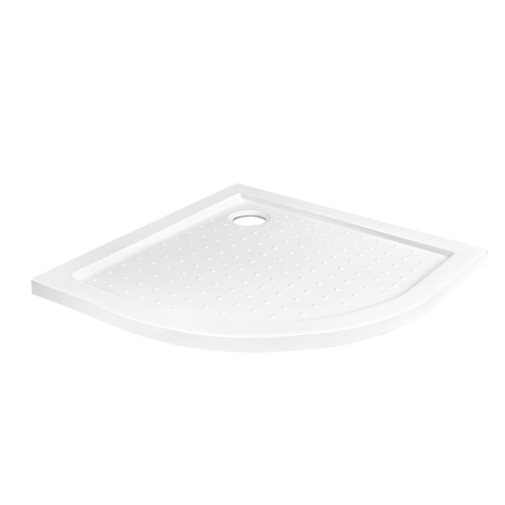 Cefito Shower Base Over Tray Acrylic ABS Curved 900x900mm White