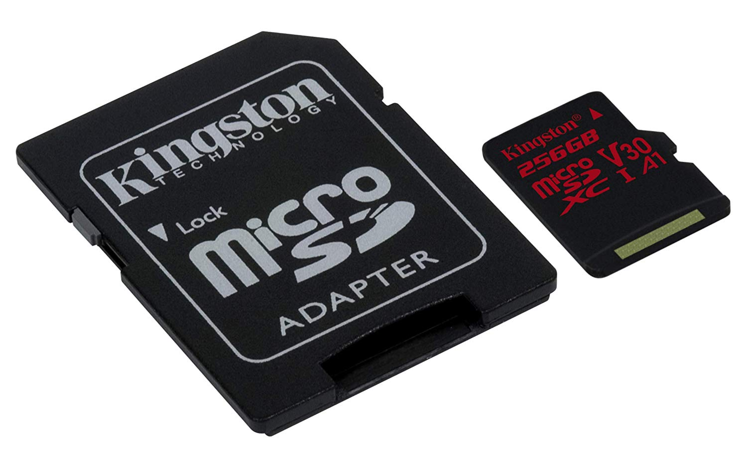 KINGSTON  Canvas React: MicroSD 256GB