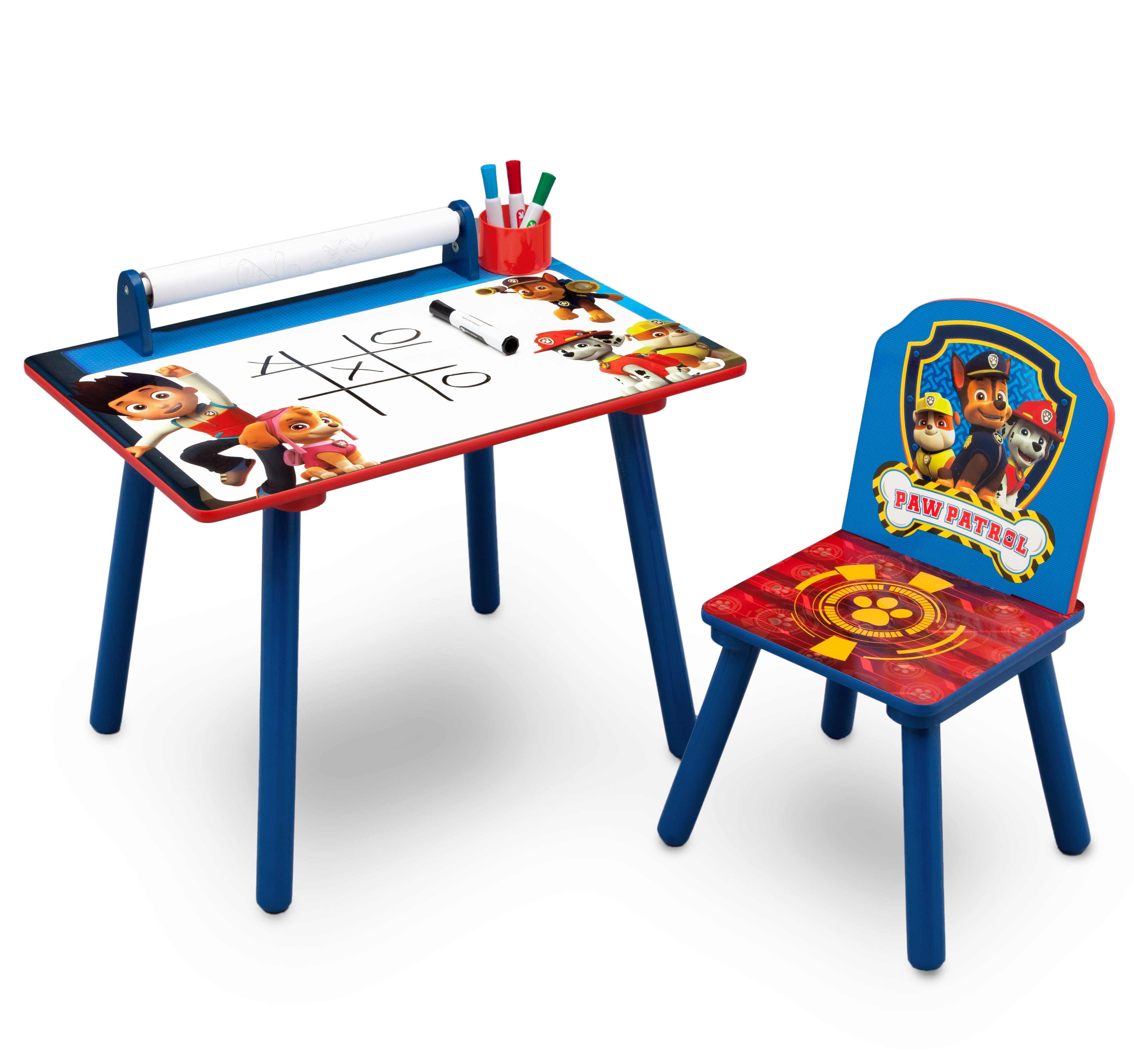 Activity Desk with Paper Roll - Paw Patrol