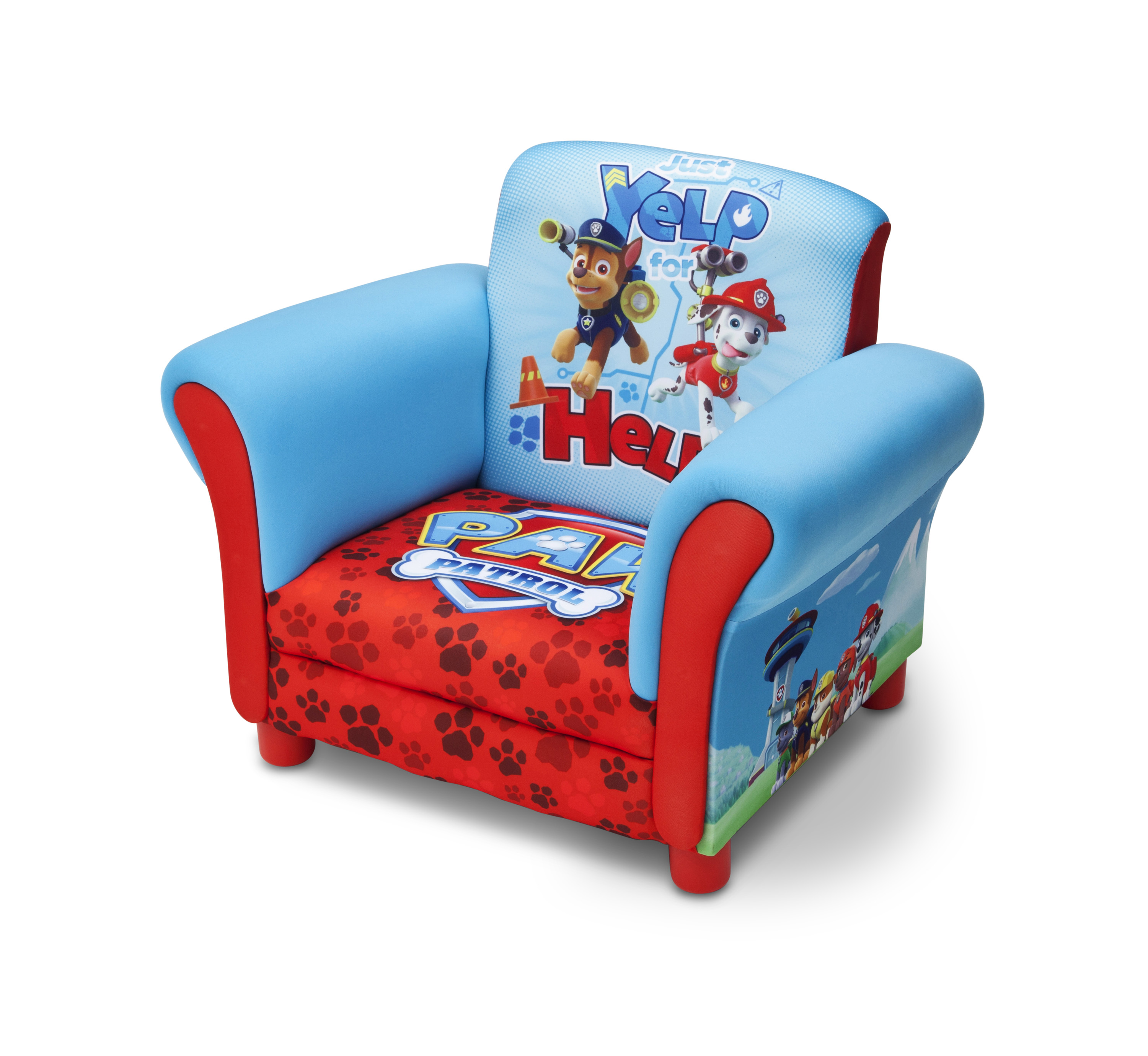 Upholstered Chair - Paw Patrol