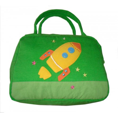 Rocket Lunch Box Cover Green