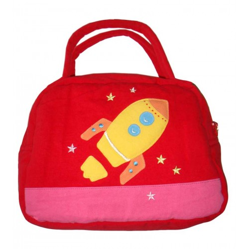 Rocket Lunch Box Cover Red