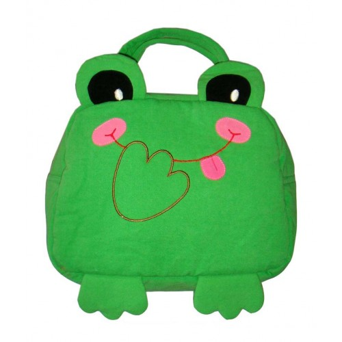 Tree Frog Lunch Box Green