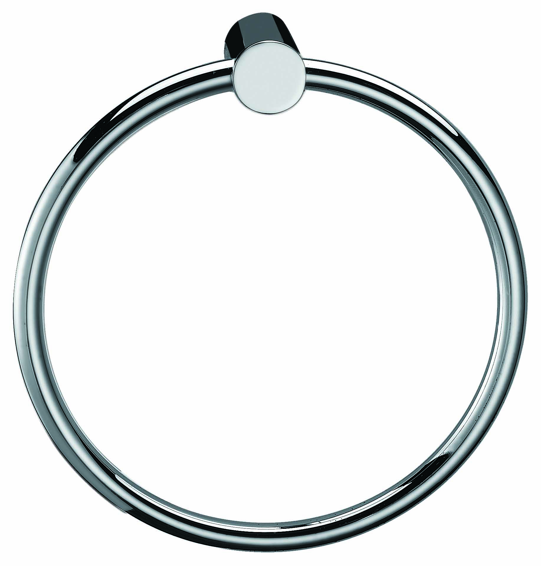 Towel Ring Rail Grade 304 Stainless Steel 20cm