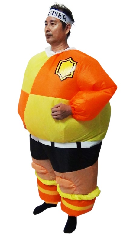 FOOTBALL Fancy Dress Inflatable Suit -Fan Operated Costume