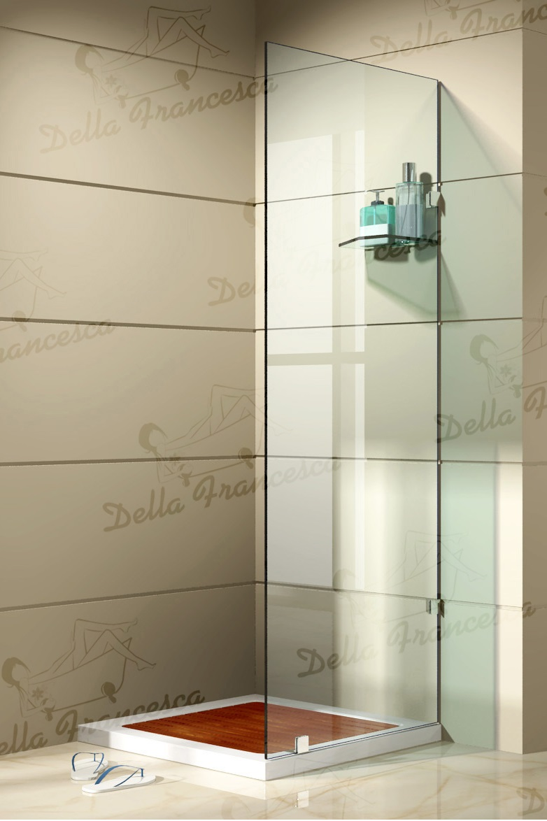 800x800mm Walk In Wetroom Shower System By Della Francesca