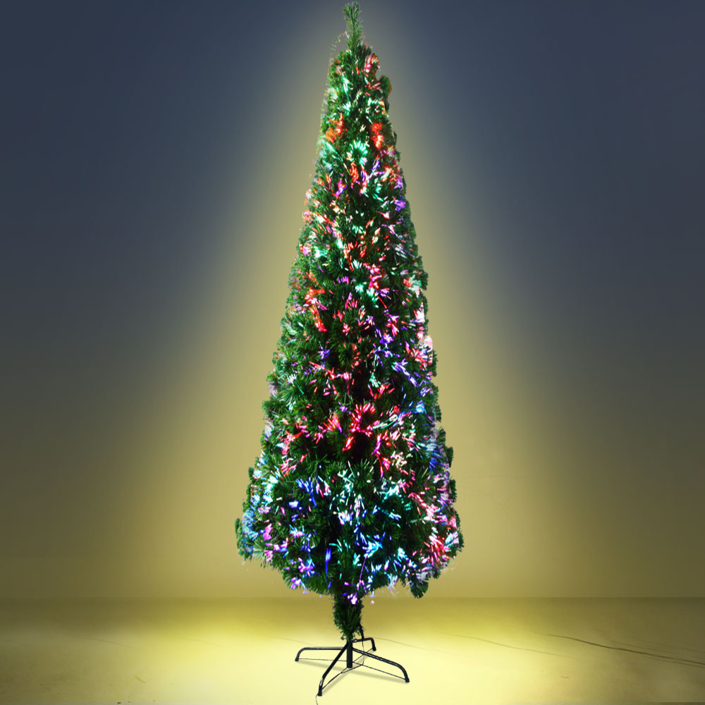 Jingle Jollys 2.4M 8FT LED Christmas Tree Multi Colour