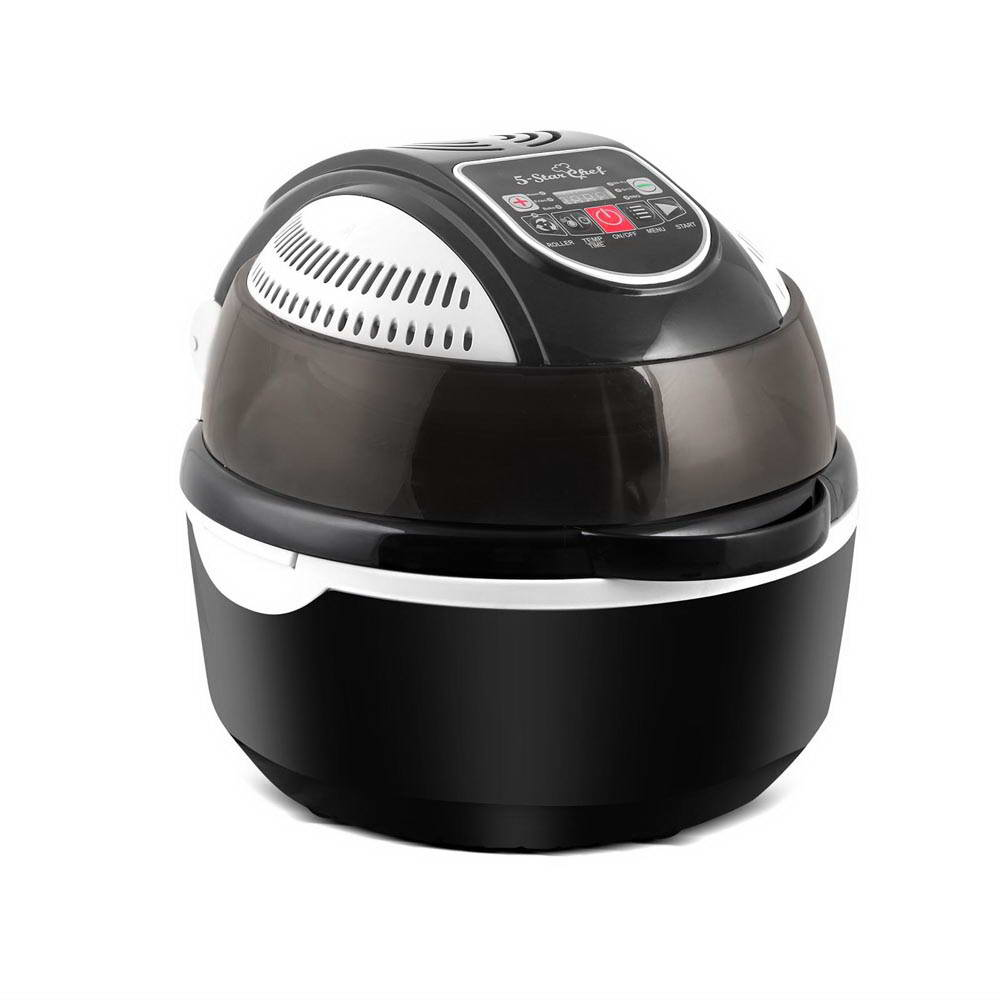 5 Star Chef 10L 6 Function Convection Oven Cooker Air Fryer- Black