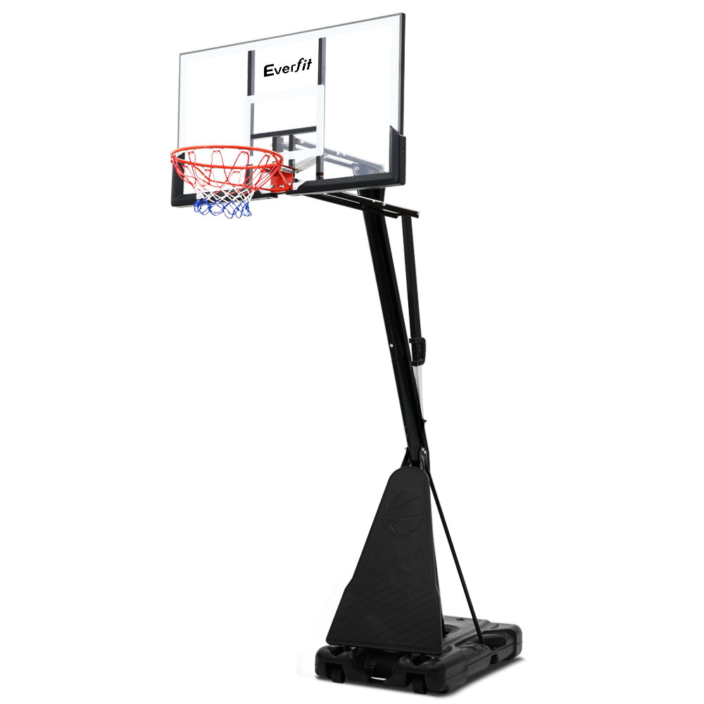 Everfit 3.05M Adjustable Portable Basketball Stand Hoop System Rim