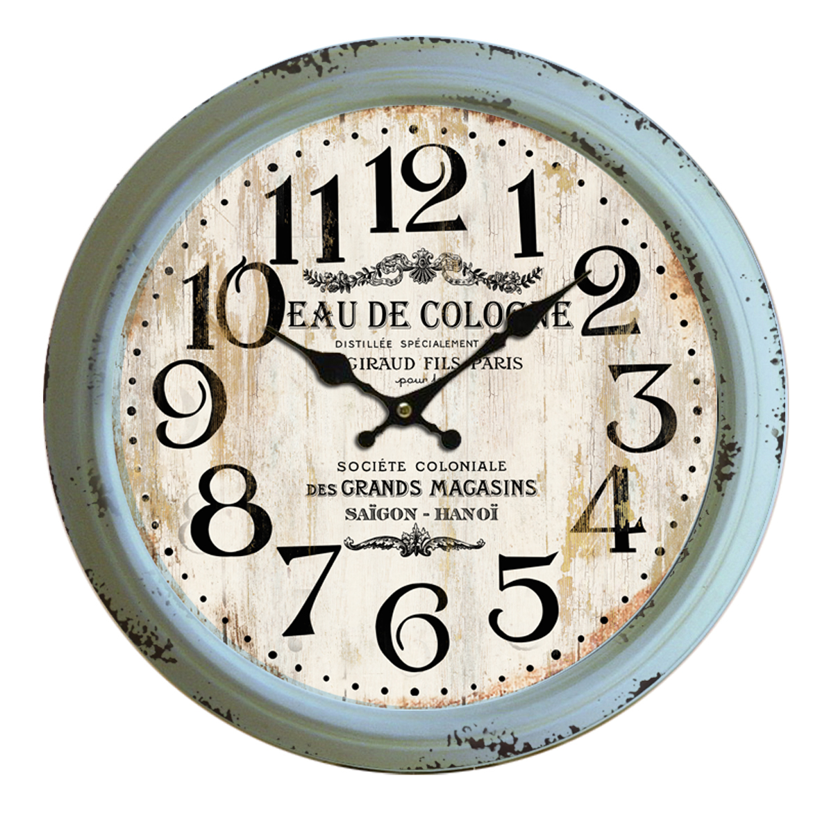 Classical 18'' Round Metal Wall Clock