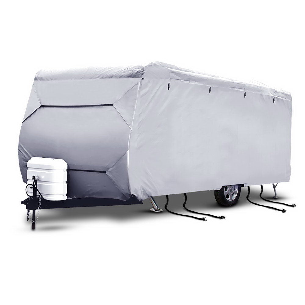 Weisshorn 18-20ft Caravan Cover Campervan 4 Layer UV Waterproof