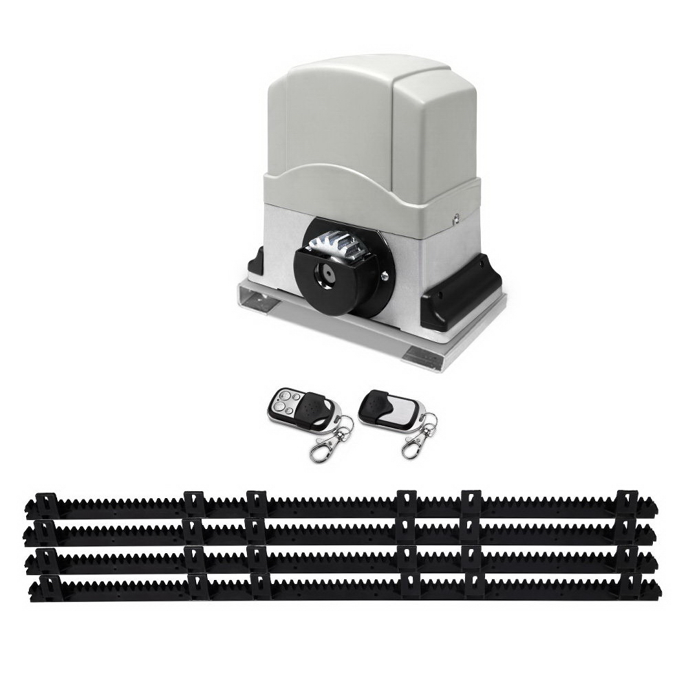 Auto Electric Sliding Gate Opener 1200KG 4M Rails