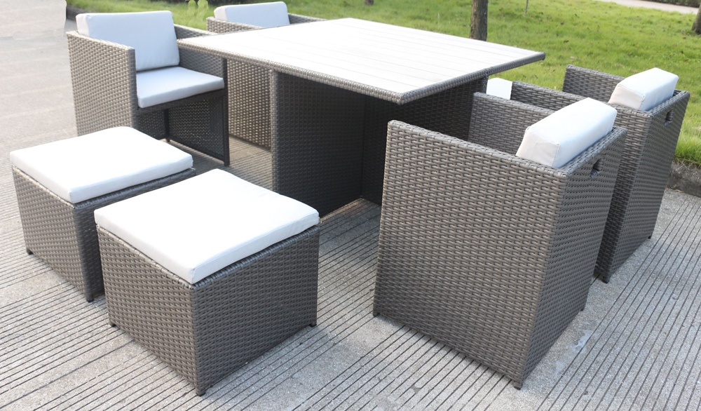 Messina 9 Piece Rattan Dining Set