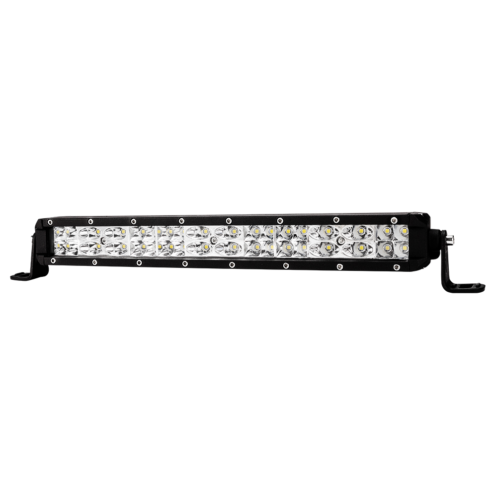 50W 12inch CREE LED Light Bar Flood Driving Work Offroad Reverse