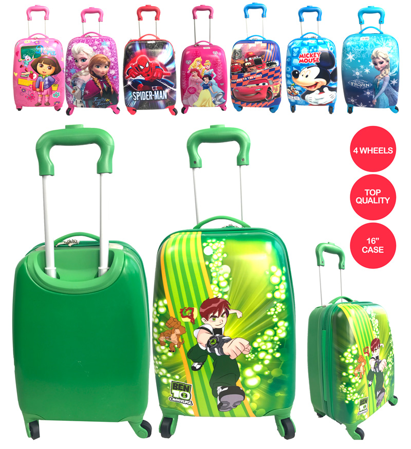 CHARACTER DESIGN LUGGAGES BEN10