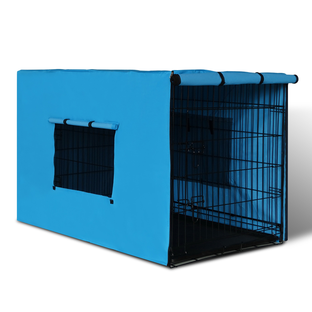 i.Pet 36inch Collapsible Pet Cage - Black