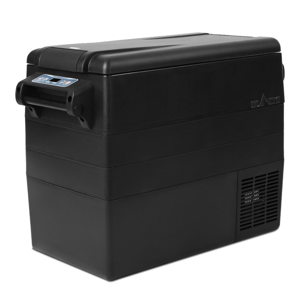 Glacio 55L Portable Fridge & Freezer Cooler Black