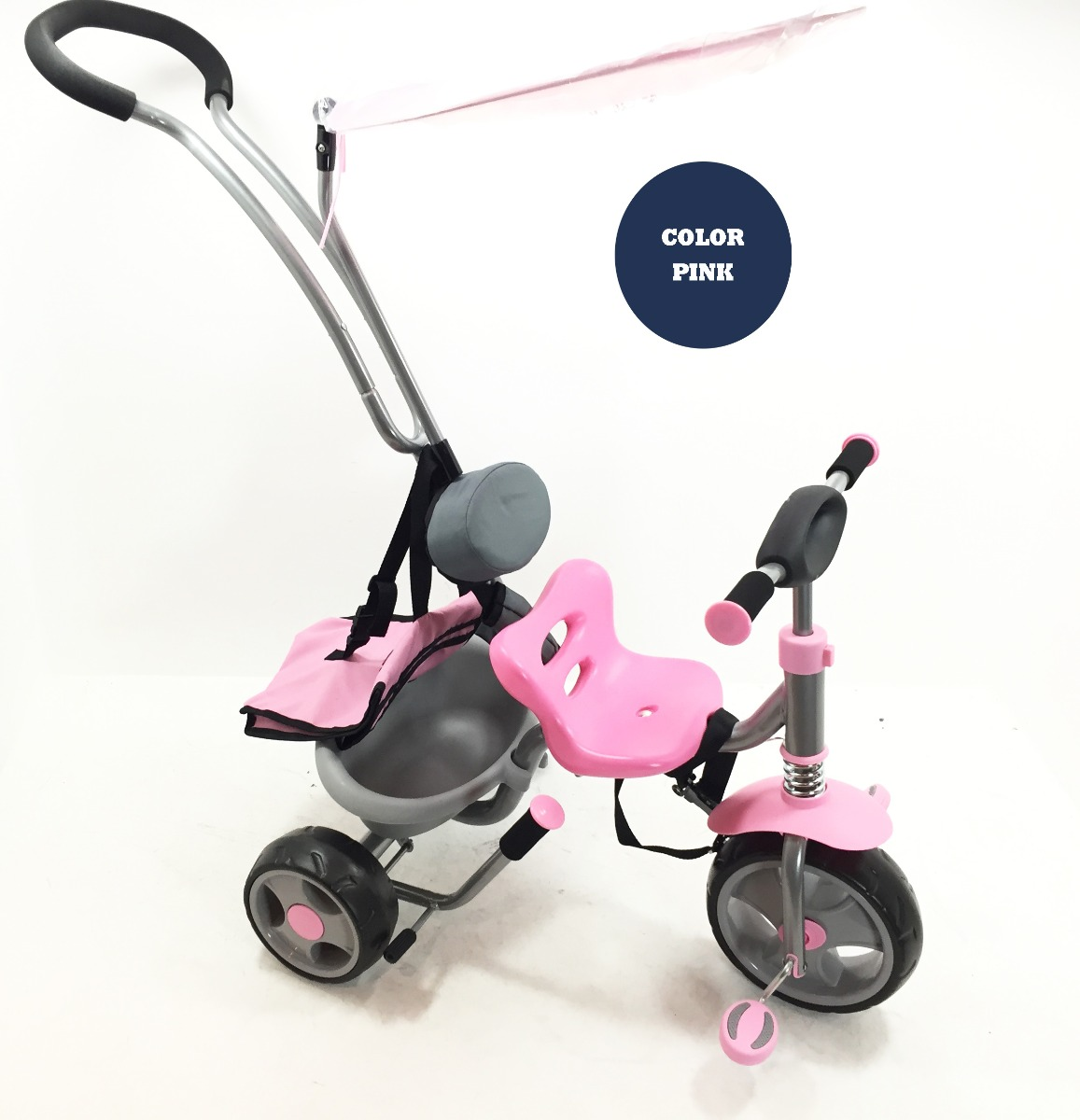 Steerable Tricycle With Canopy