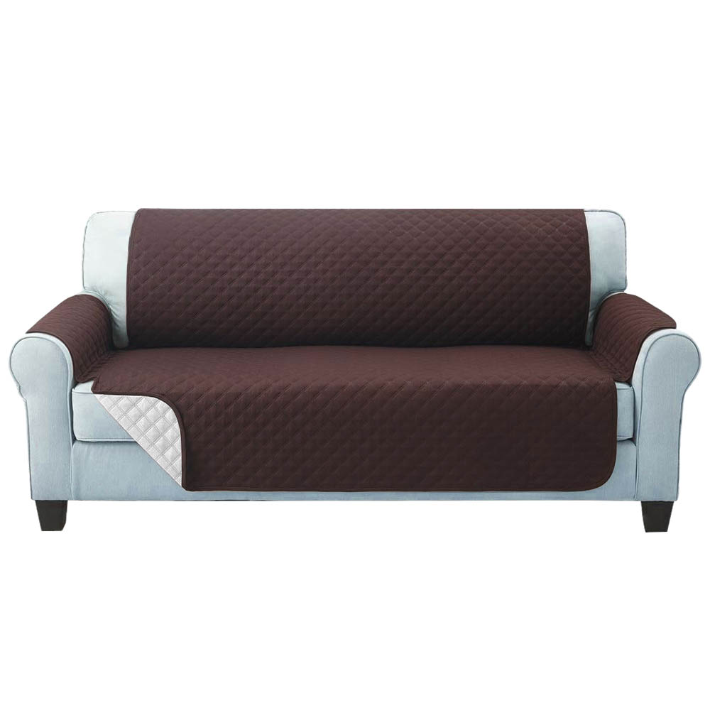 Artiss Sofa Cover Quilted Couch Covers Protector Slipcovers 3 Seater Coffee