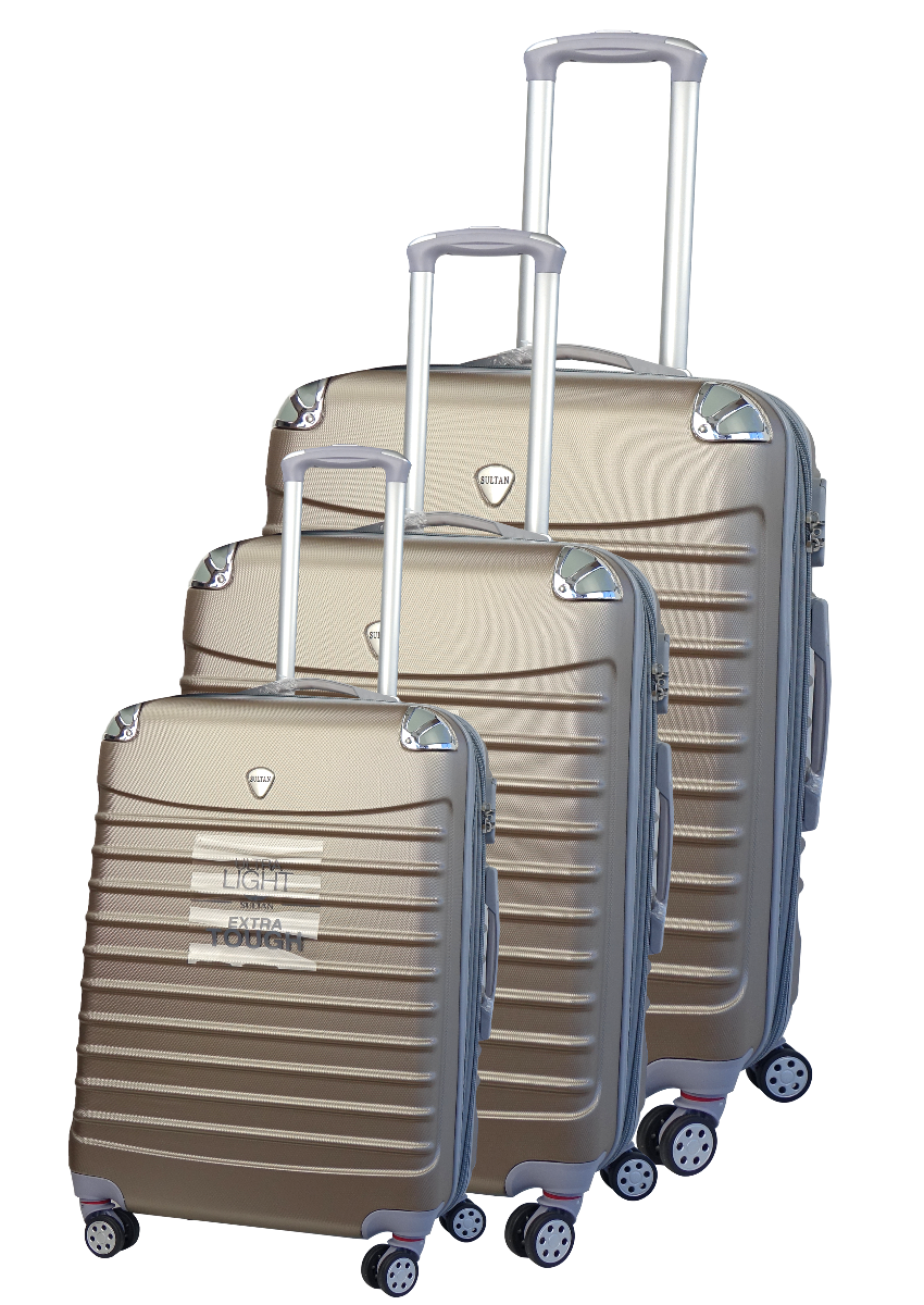 Sultan ABS Luggage Hardcase Set Of Three
