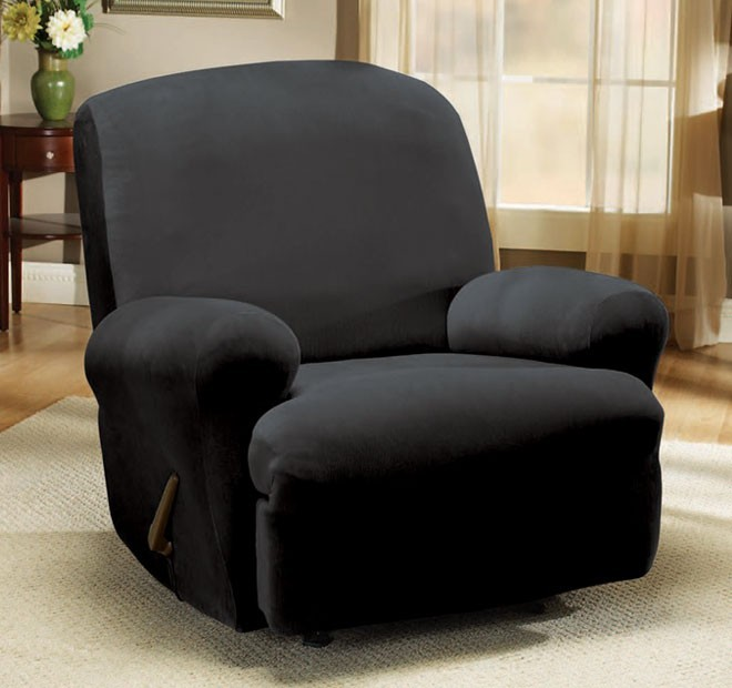 Pearson Ebony Recliner Cover by Sure Fit