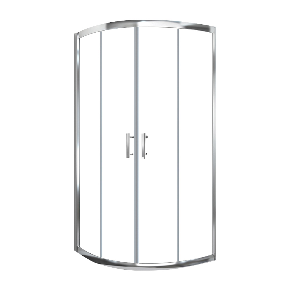Cefito Curved Shower Cubicle Screen