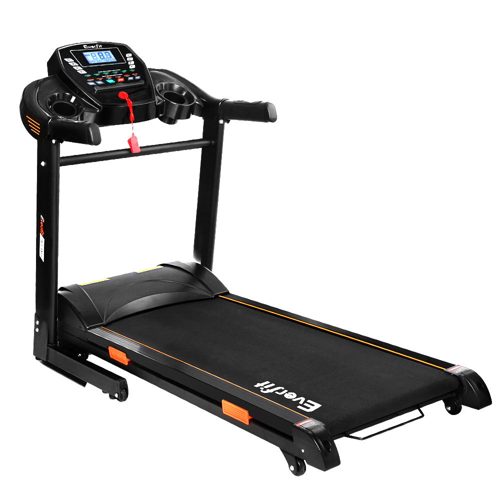 Everfit Electric Treadmill 45cm Auto Incline Running Home Gym Machine Black